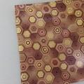Handy Bags-Modern print in browns/gold