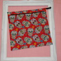 Fully Lined Zipper Pouch Bag - large