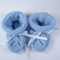 Light Blue Bootees