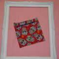 Fully Lined Zipper Pouch Bag - small