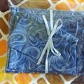 Handy Bags-Modern swirly blue print