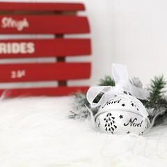 Christmas Stock Photo, Christmas Sleigh Photo, Styled Stock Photo