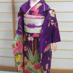 Fashion Doll clothes Japan kimono set for Barbie, Poppy Parker handmade