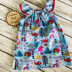 Christmas Seaside Dress Size 2 Custom Order for Jennette