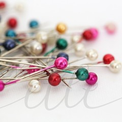 Styled Stock Photo Sewing Pins, Stock Photo Sewing Pins, Craft Stock Photo, Craf
