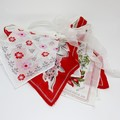 Vintage Hanky Bunting Wedding Engagement Party Boho  *FREE POSTAGE*