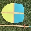 Toys of Wood - Wooden Shield and Sword Set