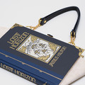 Lost Horizon Novel Bag - James Hilton - Upcycled book - Bag made from a book