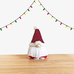 Christmas Gnome with Red Hat
