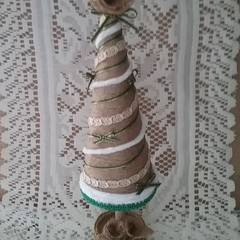 Jute Christmas Tree #1