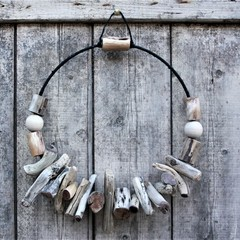 Simply Rustic Driftwood Wreath Wall hanging