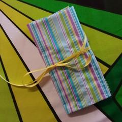 Crochet Hook Handy Wrap-Multi Stripe