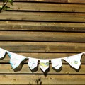 Vintage Hanky Bunting - Wedding Engagement Party  *FREE POSTAGE*