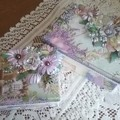Country Lavender handmade boxes (pair)