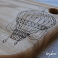 Wood Burnt Hot Air Balloon Camphor Laurel Cutting Board