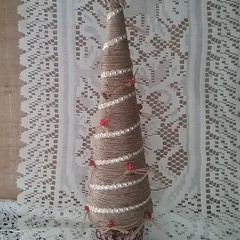 Jute Christmas Tree #2