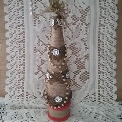 Jute Christmas Tree #4