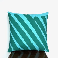 Modern Chair Cushion. Beach House Decor.