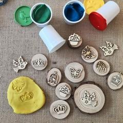 Timber Playdough Stampers - Princess set