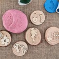 Timber Playdough Stampers - Fairy Set
