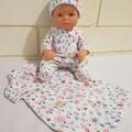Miniland Baby Doll Sleep Set - Custom Order for Jenny