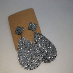 Glitter me silver