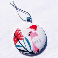 Australiana Christmas Ornament - Galah