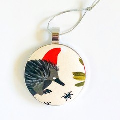 Australiana Christmas Ornament - Echidna