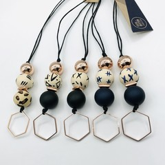 Hexagon Pendants