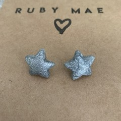 "~ The ""Silver Stardust"" stud ~"
