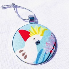 Australiana Christmas Ornament - Cockatoo