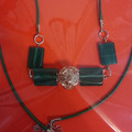 JADE COLOURED SQUARE NECKLACE