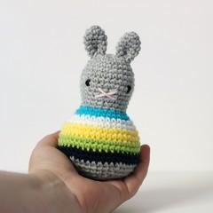 baby toy rattle, newborn baby gift  .. BONDI