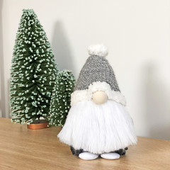 Gnome with Grey Hat - Made to Order