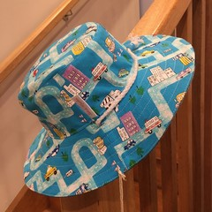 Fully Reversible Broad Brimmed Hat - Boys