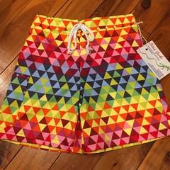 Boys Shorts - Triangles