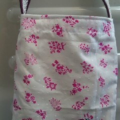 SMALL CARRY ALL TOTE BAG Fully Lined Over the Arm Strap
