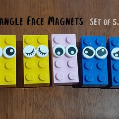 Rectangle Face Magnets