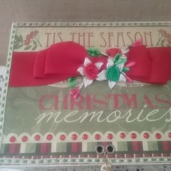 Christmas Memories Album in a Box