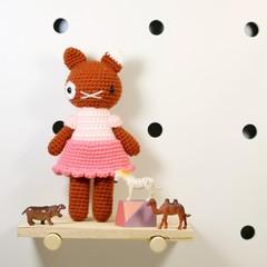 stuffed plush toy, cat kitty amigurumi, crochet kitten plush .. KAYLA