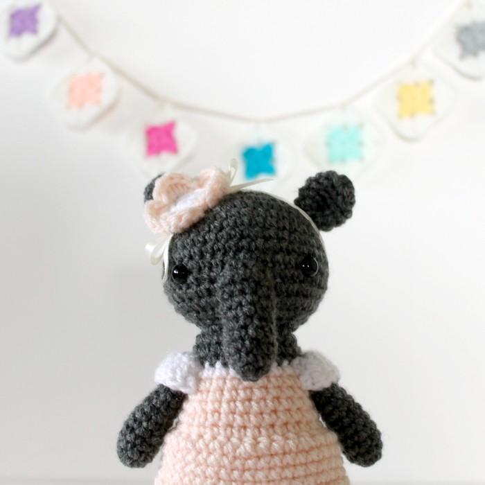CROCHET PATTERN Baby ELEPHANT Amigurumi doll / Stuffed Doll   Etsy   700x700