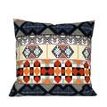 Geometric Moroccan Tile Pattern Pillow.