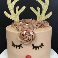 Reindeer antlers Cake toppers