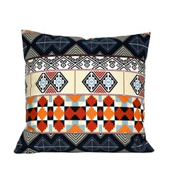 Geometric Moroccan Tile Pattern Pillow.