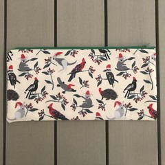 Australian Christmas animals pencil case