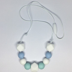 Silicone Bead Necklace - Nursing Necklace - Teething Necklace - Baby Shower Gift