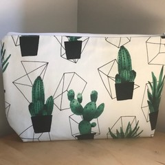 Cactus toiletries bag