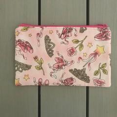 Pink ballet pencil case