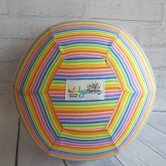 Balloon Ball: Rainbow stripes
