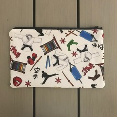 Martial arts pencil case